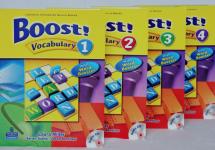 Boost! Vocabulary – Pearson Longman